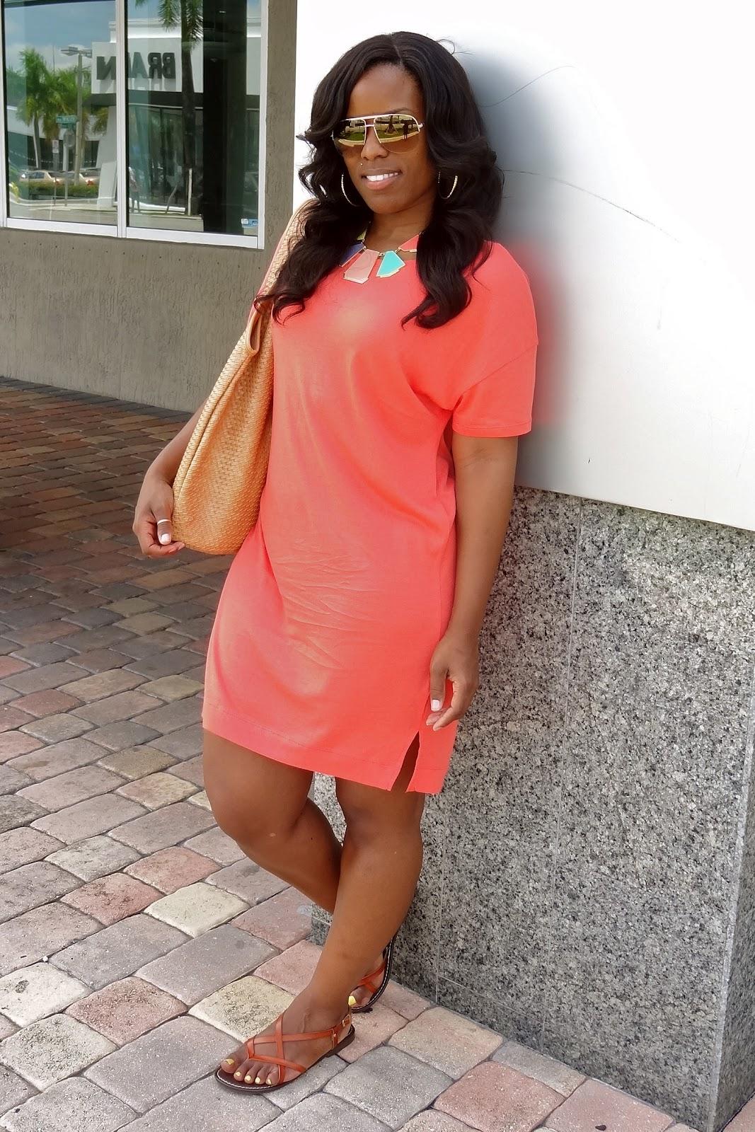 0734fbdf741b Weekend Wear  T-Shirt Dress - Curves and Confidence
