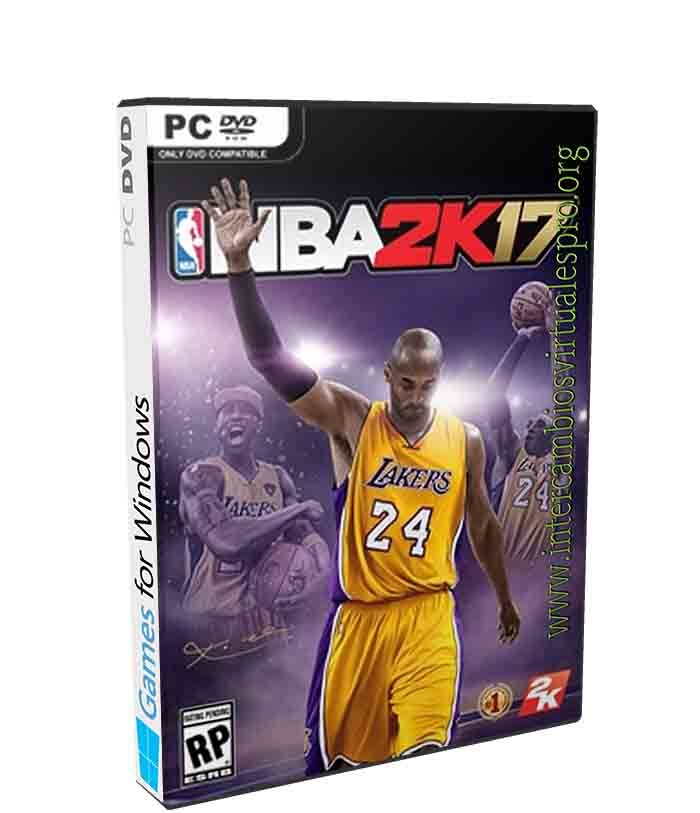 NBA 2K17 poster box cover