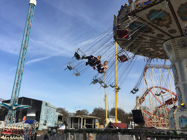 swing seat at Winter Wonderland