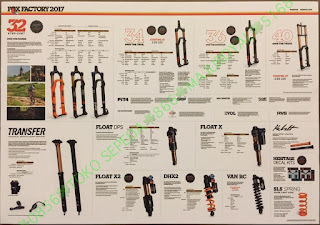 Spesifikasi Fork Rear Shock Seatpost FOX 2017 1