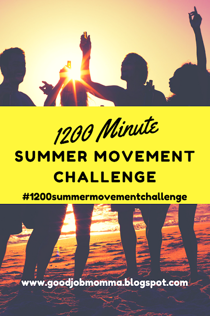 1200 Minute Summer Movement Challenge