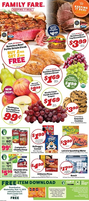 Family Fare Weekly Ad Scan September 4 - 10, 2019