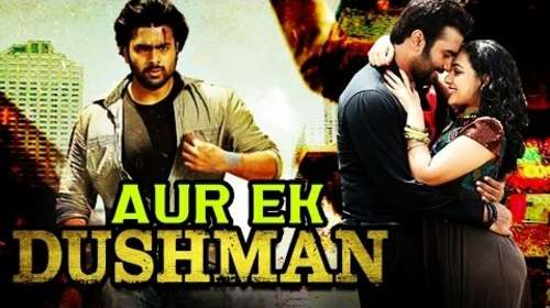 Poster Of Aur Ek Dushman - Okkadine In Hindi Dubbed 300MB Compressed Small Size Pc Movie Free Download Only At worldfree4u.com