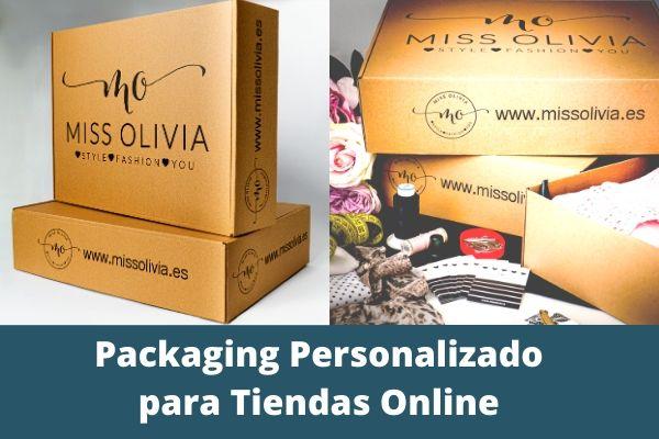 packaging personalizado para tiendas online