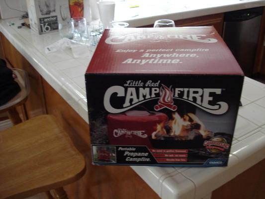 Little Red Campfire Propane Portable Campfire 10979