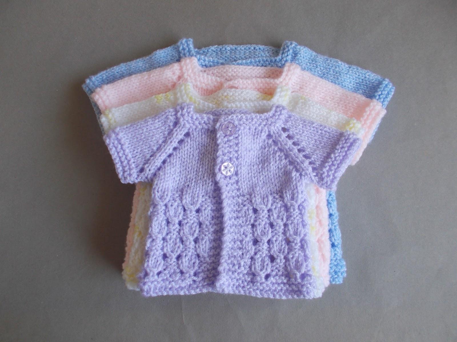 Marianna\'s Lazy Daisy Days: Dewdrop Baby Jacket - Preemie & Newborn ...
