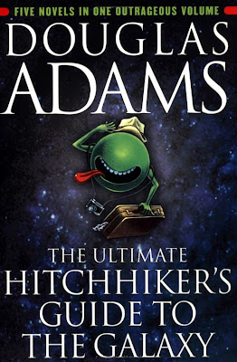 The Ultimate Hitchhiker's Guide to the Galaxy by Douglas Adams - book cover