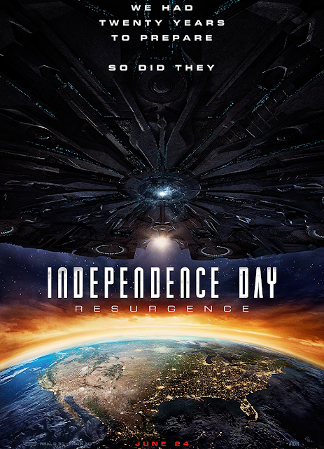 POSTER INDEPENDENCE DAY 2 RESURGENCE