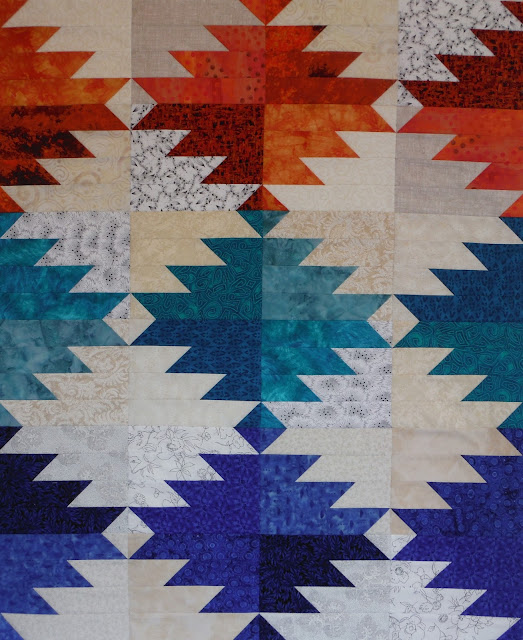Southwest Quilt Is A Finished Top