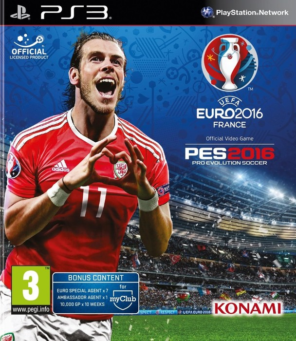 [PS3] UEFA EURO 2016: Pro Evolution Soccer