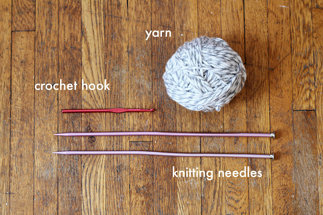 What you'll need to make an easy, snuggly knit cap