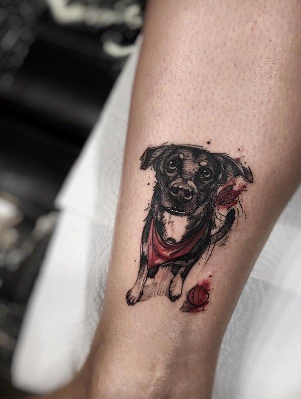 Tatuagem cachorro