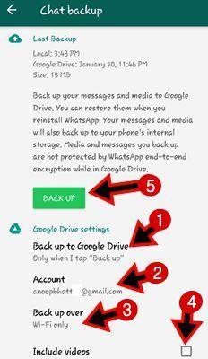 Whatsapp Backup Kaise Banaye
