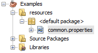 Java by examples: How to create resource folder in Netbeans?