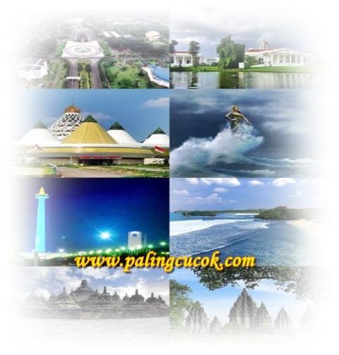 gambar daftar tempat-tempat wisata di Pulau Jawa Indonesia