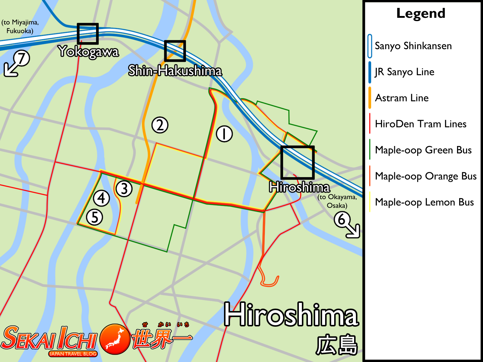Sekai Ichi Japan Travel Blog Introduction to Hiroshima