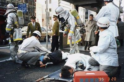 Sarin gas attack on Tokyo subway