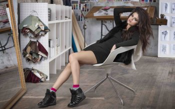 Wallpaper: Selena Gomez for Adidas NEO