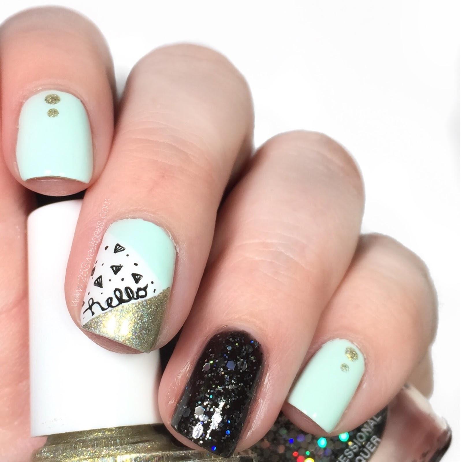 Hello Nail Art