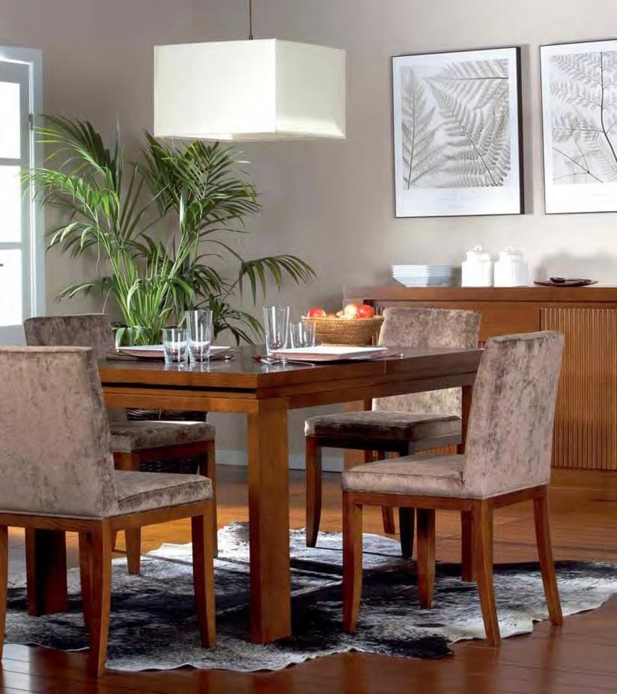 Mesas de comedor 5 mesas de comedor en madera de casta o for Mesas de comedor coloniales