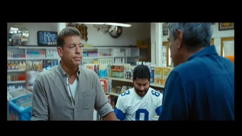 Miller Lite Ad: 'Dwelling in the Past' Featuring Troy Aikman