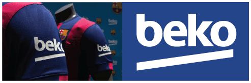 size 40 3169a 4907c FC Barcelona Beko sponsor logo – Timix Patch