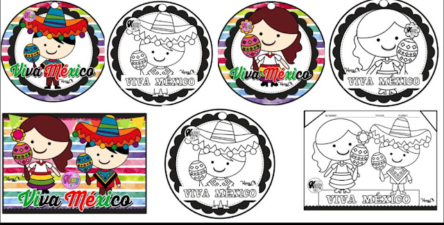 colorear,personajes,historia,primaria,aula