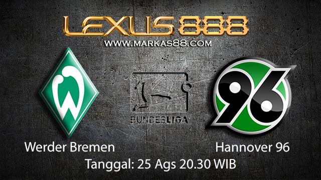 BOLA88 - PREDIKSI BOLA WERDER BREMEN VS HANNOVER 25 AGUSTUS 2018 ( GERMAN BUNDESLIGA )
