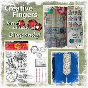Creative Fingers Christmas BlogCandy!