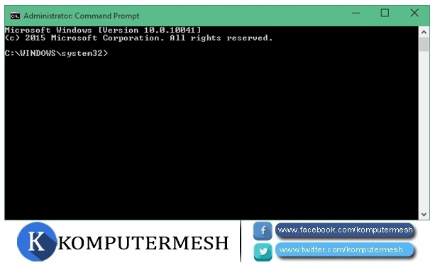 Cara Membuka Command Prompt (CMD) Admin di Windows 10