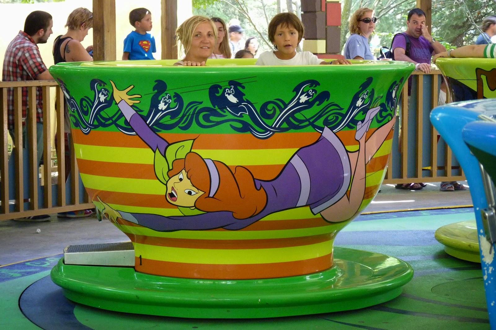 Tazas de Té de Scooby Doo.