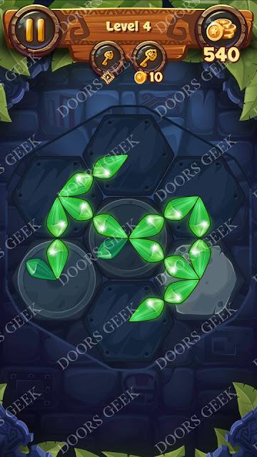 Gems & Magic [Emerald] Level 4 Solution, Walkthrough, Cheats