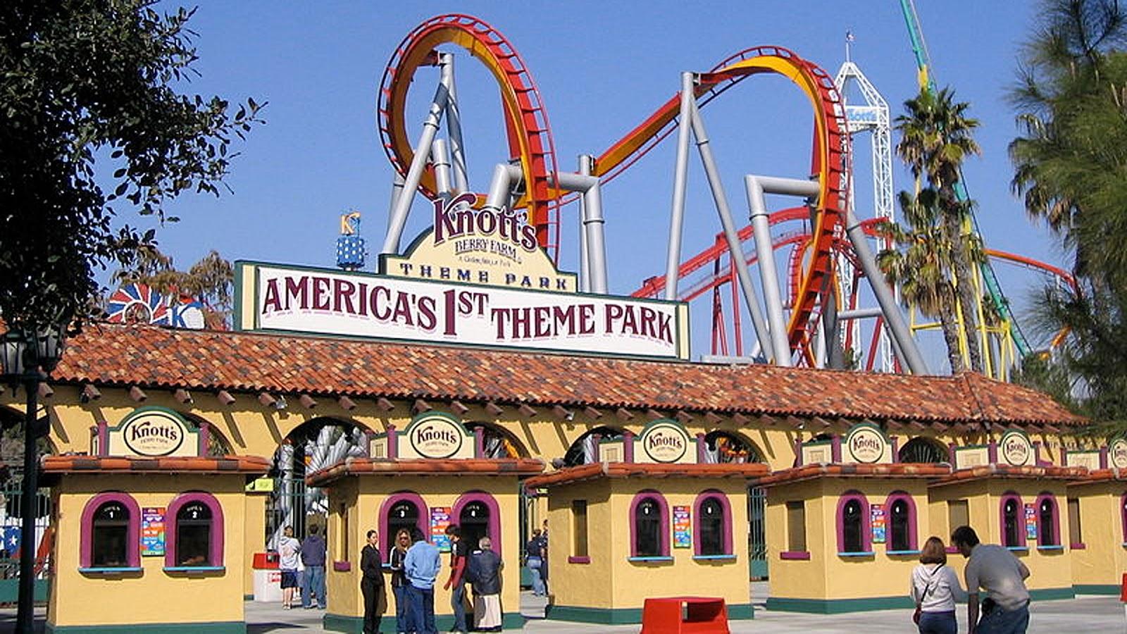 Parque Knott s Berry Farm na Califórnia  ea488949b6d