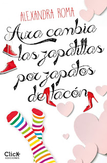 Aura cambia las zapatillas por zapatos de tacón, ALEXANDRA ROMA
