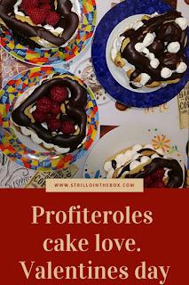 profiteroles cake love