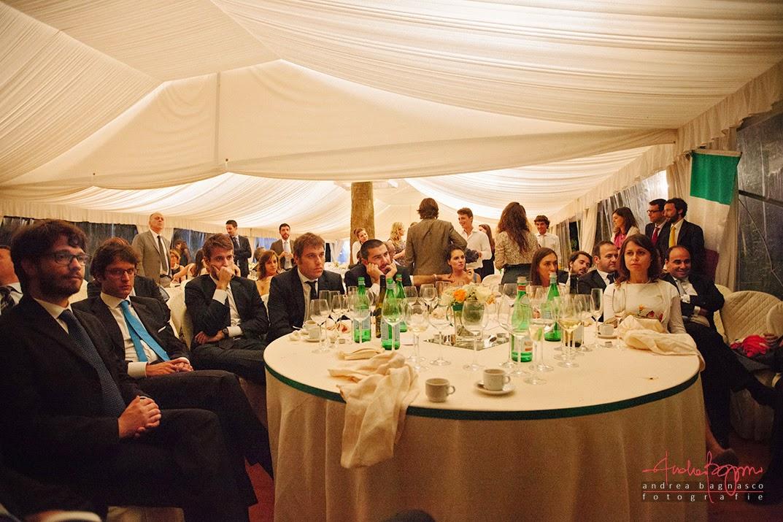 invitati al ricevimento matrimonio Genova Palazzo della Torre