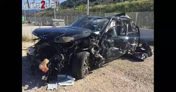 Στη δημοσιότητα βίντεο που δείχνει το αυτοκίνητο του Mr Ζαγόρι μετά το σοβαρό τροχαίο στην Ιόνια Οδό (βίντεο)