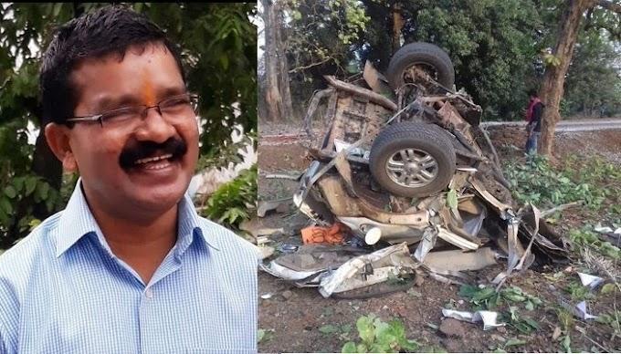 भाजपा के विधायक भीमा मंडावी का नक्सली हमले में निधन बुलेटप्रूफ गाड़ी को बनाया निशाना