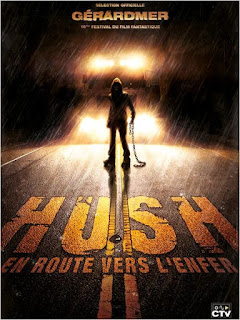 affiche française du film Hush, french poster of the Hush, Mark Tonderai, survival, uk 20019