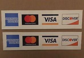 Credit Cards Real Numbers with type Visa, Mastercard, Discover and American Express
