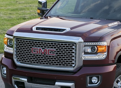 2017 GMC Sierra Denali HD Hood Scoop