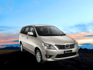 Toyota Innova Chauffeur Booking