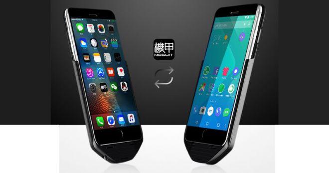 Con questa custodia esegui Android sul tuo iPhone | Video HTNovo