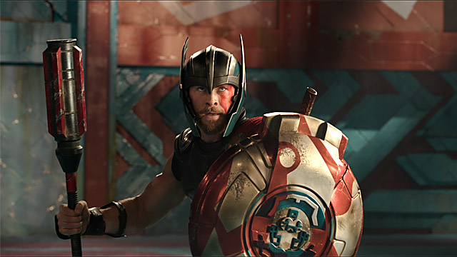Chris Hemsworth as Thor in 'Thor: Raganarok'