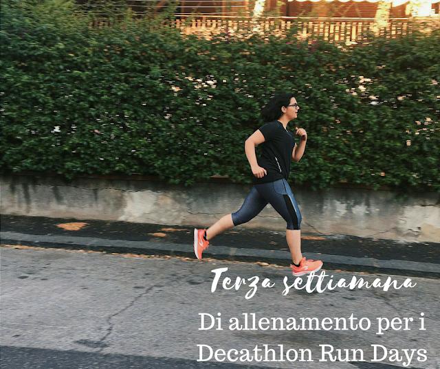 #corrirundays allenamento terza settimana considerazioni decathlon decathcoach app fashion's obsessions zairadurso zaira d'urso roberto nava @zairadurso
