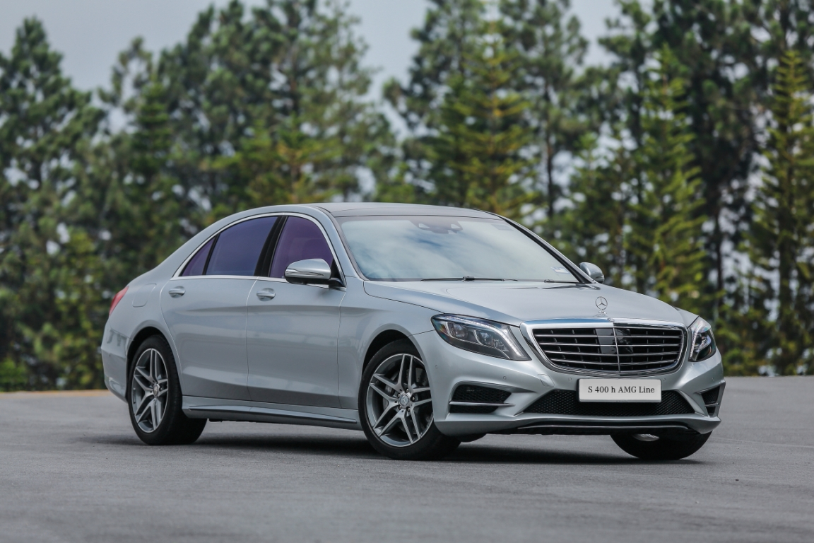 Motoring malaysia mercedes benz s 400 h amg line for Mercedes benz 400