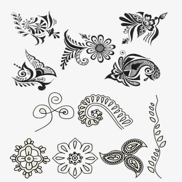 66 Images For Paper Drawing Henna Design ~ All What Veiled ...  66 Images For P...