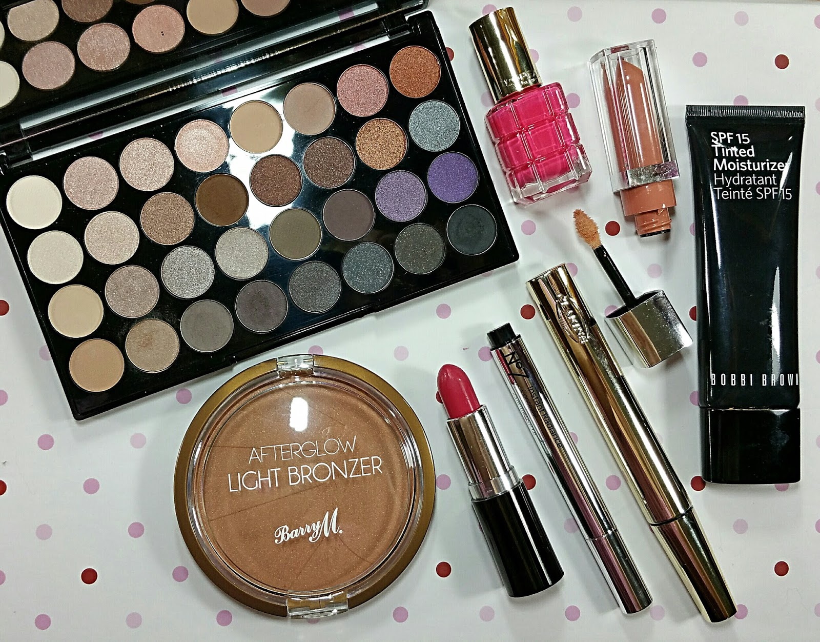 What's In My Spring Makeup Bag