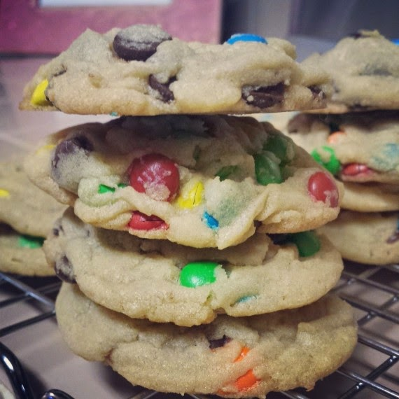 Baking with Melissa: M&M Cookies