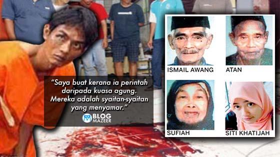 Mengimbas Pembunuhan Kejam 4 Beranak Oleh Keluarga Sendiri di Gemencheh Tahun 2010